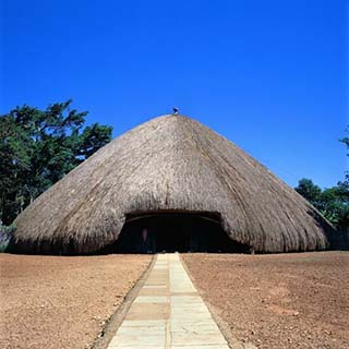 Kasubi tombs (still under reconstruction) re-opening soon
