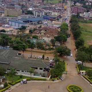 Kampala as seen from above (Namirembe hill)