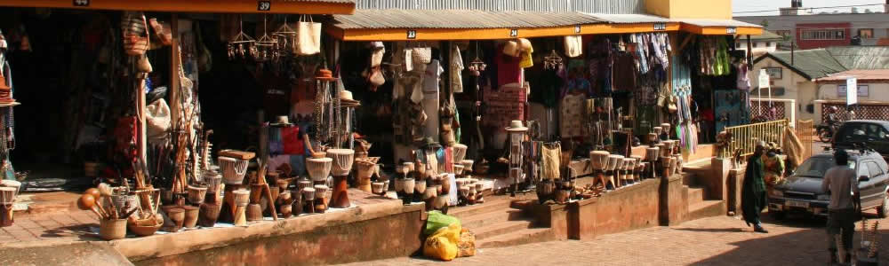 The Crafts Markets Of Kampala
